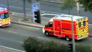 Nouvelle ambulance de réanimation BMPM