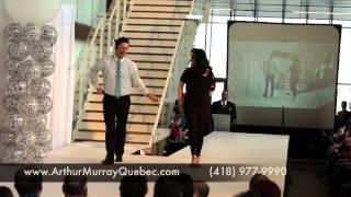 Démonstration de danse Salon des Mariés Lévis 2014