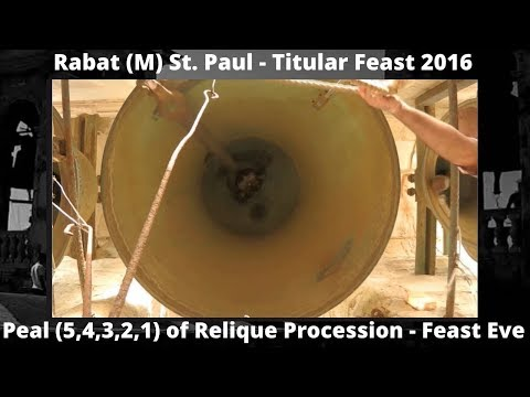 Rabat M St. Paul - Feast St. Paul 2016 - Translation (5,4,3,2,1) - Video - 5 Bells / 14