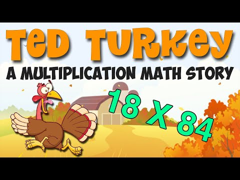 thanksgiving-math-story:-ted-the-turkey-(3rd-5th-grade)