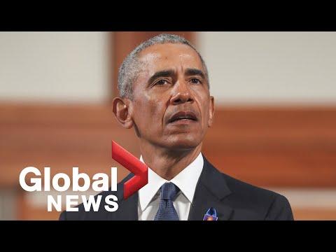 Barack Obama Delivers Powerful Eulogy At John Lewis Funeral