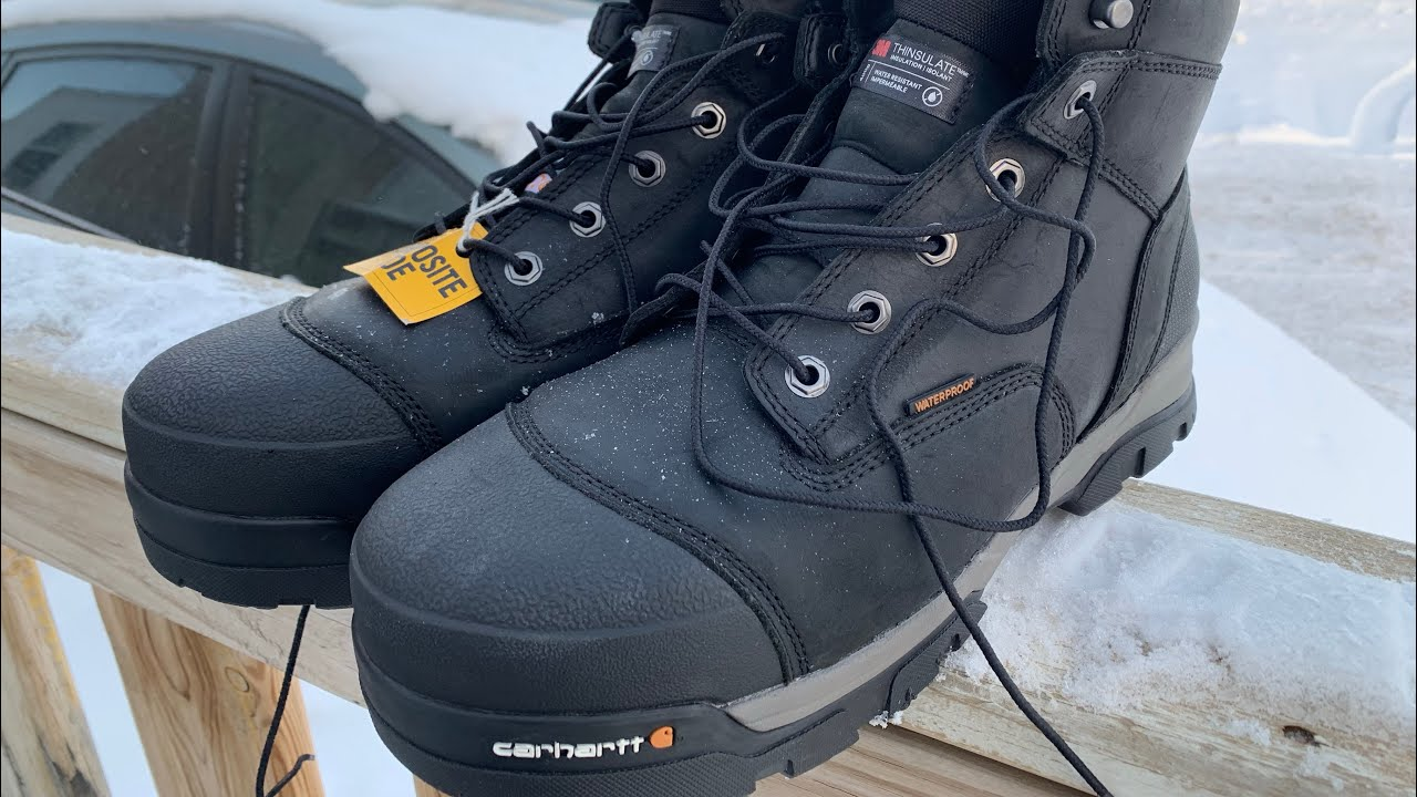 4a8f82d15b1 CARHARTT Men's Ground Force Insulated Work Boot Safety Toe Cmr8959
