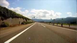 関越自動車道 長岡IC→谷川岳SA GoPro HD (8倍速)