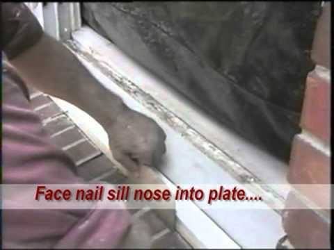 How to window sill repair youtube - Interior window sill replacement ...