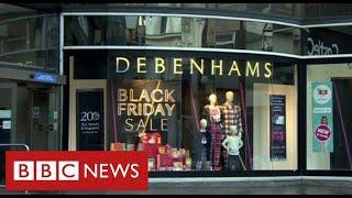 Debenhams set to close with 12,000 job losses - BBC News
