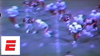 Barry Sanders high school football highlights [Rare video] | ESPN Archives