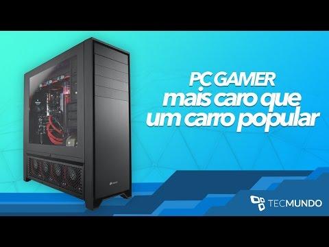 Montamos e testamos um PC gamer mais caro que um carro zero KM [vídeo]