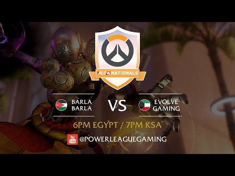 PLG Nationals with Overwatch - GCC & Levant Brackets - [JOR] Barla Barla vs [KWT] Evolve Gaming