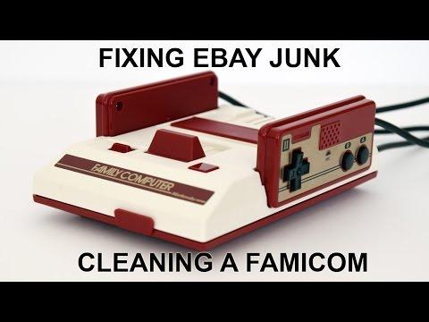 Fixing eBay Junk - Refurbishing a Famicom