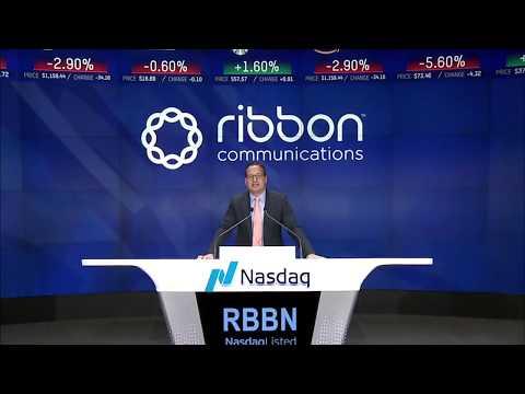 RBBN Nasdaq Closing Bell Ceremony | 11.29.17