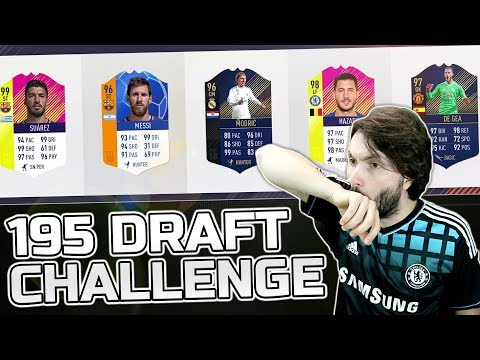 195 DRAFT CHALLENGE! FIFA 18 Ultimate Team
