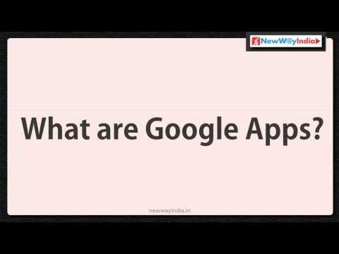 Google Apps 101 - What are Google Apps / List of All Google Apps - Best for Google Beginners (#001)