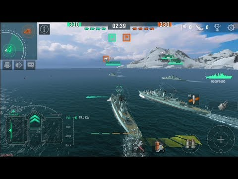 World of Warships Blitz (by Warg aming Group) - action game for android and  iOS - gameplay