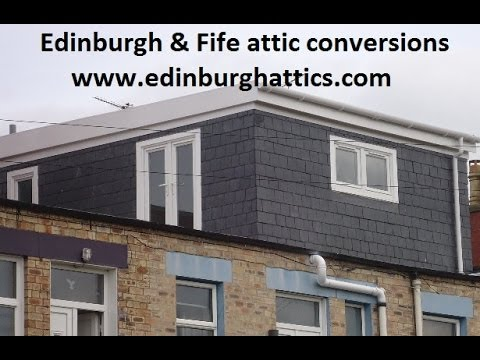 Edinburgh Amp Fife Attic Loft Conversions Huge Dormer
