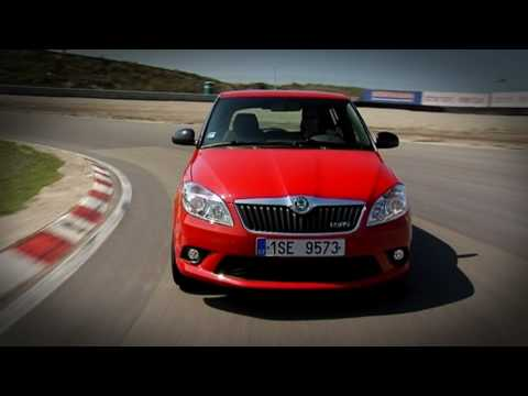 Skoda Fabia RS roadtest (English Subtitled)