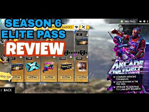 SEASON 6 ELITE PASS REVIEW|| HOW IT IS??| GARENA FREE FIRE| FREE FIRE INDIA