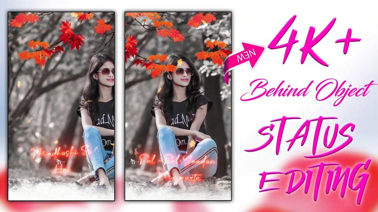 New 3d Behind Object Video Editing - 3d Trending Behind Object Status Video Editing - Reels Editing