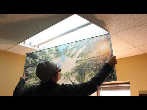 Installing Decorative Light Panels
