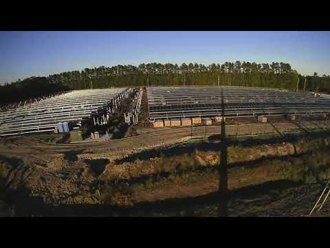 Bell Bay Solar Farm Time Lapse