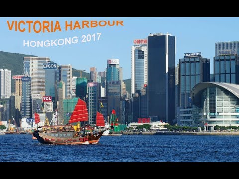 World's best tourist place Victoria Harbour- Hongkong