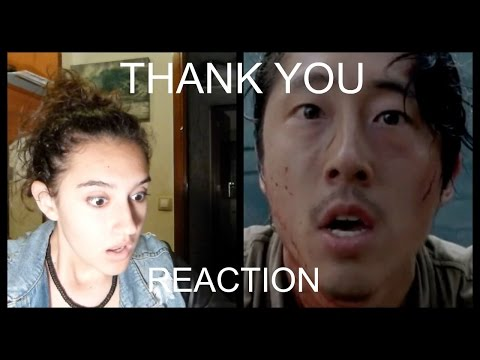 "The Walking Dead Reaction to ""Thank You"" 6x03"