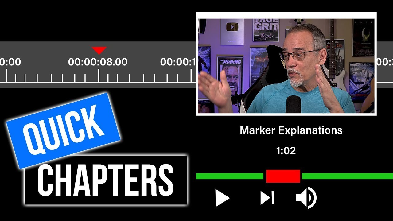 YouTube Chapters From Your Video Editor (and lots of outtakes)