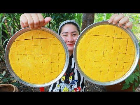 Yummy Pumpkin Custard Homemade Cooking – Pumpkin Dessert – Cooking With Sros