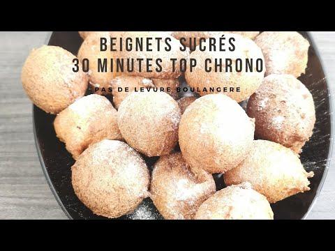 beignets-sucrés- -easy-donuts