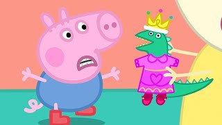 Peppa Pig English Episodes | George's Dinosaur's New Clothes | Peppa Pig Official