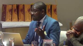 Challenges facing the Mozambican Human Rights Commission, Chairperson Cusotodio Duma