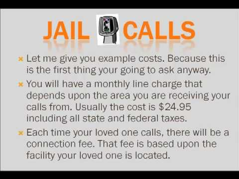 Jail Calls Lowering the Price of Correctional Facility Collect Calls