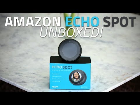 Amazon Echo Spot Unboxing and First Look | How Well Does It Work in India?