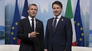 Malgré les tensions, la visite de Giuseppe Conte à Paris aura bien lieu
