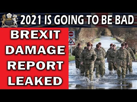Brexit Damage Report Leaked to Media