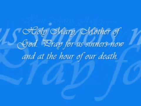 HAIL MARY (RELIGIOUS SONG) LYRICS