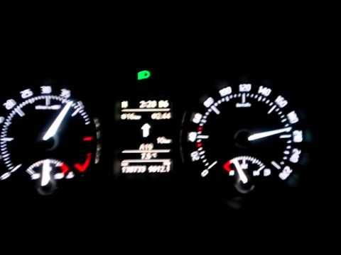 Skoda Superb  *2.0 TDI CR 140HP  fail engine :D  Acceleration 0-200 KMH on german Autobahn