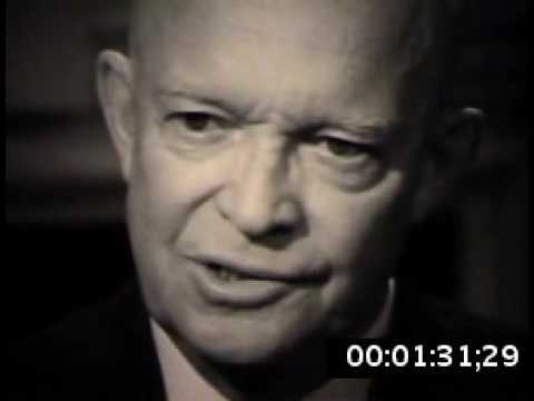 Dwight Eisenhower Discusses Leadership 1965