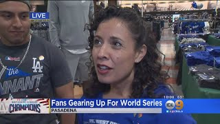 Dodgers World Series Gear Already Flying Off The Shelves