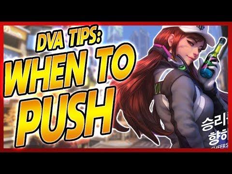PRO DVA COACHING | D.va tips: How to know when to push! | GM Dva coach