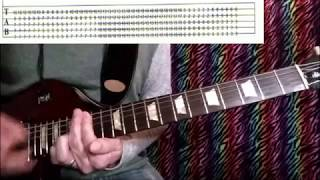 How to Play - 10000 Days WINGS PT. 2 w. tabs - TOOL guitar lesson solo included