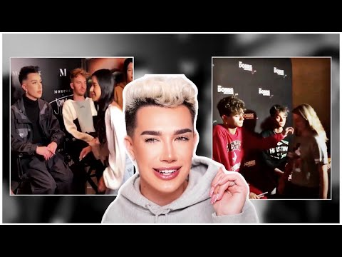james charles MOCKS the dobre brother's meet & greet! thumbnail