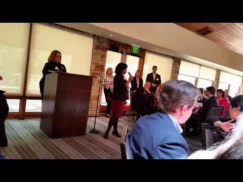 JulieMarie A Shepherd Speech at the Cherry Creek Republican Women event
