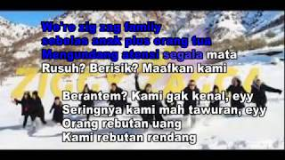 Karaoke - Gen Halilintar - Ziggy Zagga - Lirik - Tanpa Vokal