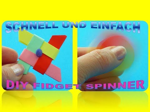 diy fidget spinner schnell und einfach selber basteln. Black Bedroom Furniture Sets. Home Design Ideas