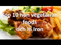 Top 10 non vegetarian foods rich in Iron