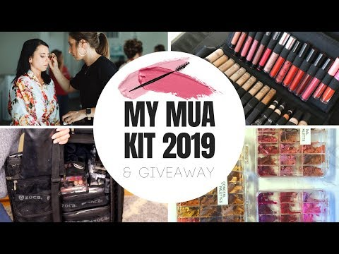 My Freelance Makeup Artist Kit 2019