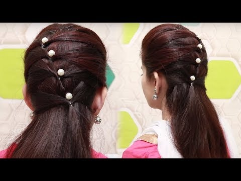 Quick hairstyles for long hair tutorial || simple hairstyles for girls || hairstyle videos