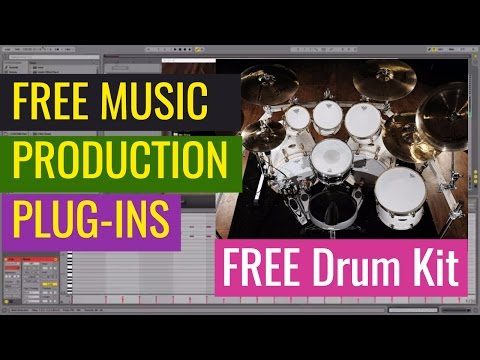 Free Drum Kit Plug-in 2017 - FREE Plugins for Music Production