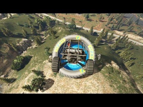 IEDEREEN AAN DE KANT BEUKEN! (GTA V Online Funny Races)