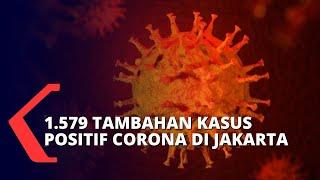 DKI Jakarta Tembus Rekor Baru Tambahan Kasus Positif Covid-19!
